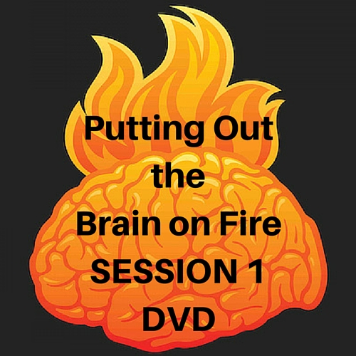Brain on Fire SESSION 1 DVD